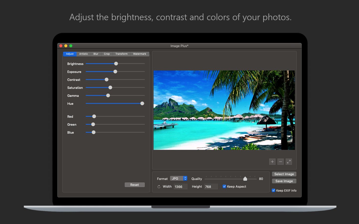 64BitApps Releases Image Plus v.1.3 for macOS Image